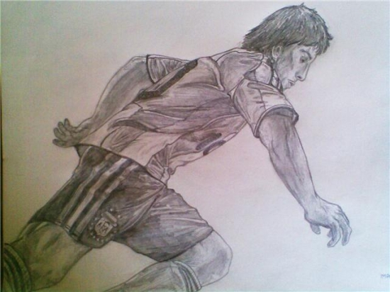 Lionel Messi by Singh95